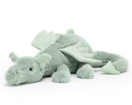 Jellycat Knuffel Draak, Sage Dragon 50 cm