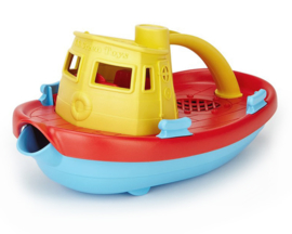 Green Toys Sleepboot Tugboat geel