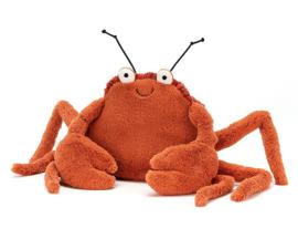 Jellycat Knuffel Krab, Crispin Crab