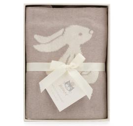 Jellycat babydeken, Bashful Bunny Beige Blanket, 100% katoen