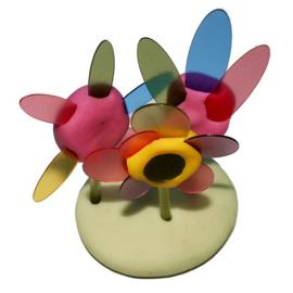 Pébéo Arteko Bioplastic vormpjes voor kleifiguren, 20 stuks