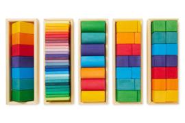 Grimm's Blokkenset Vormen en Kleuren, 70-delig
