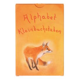 Grimm's Alfabet Kaarten, Kleine Letters