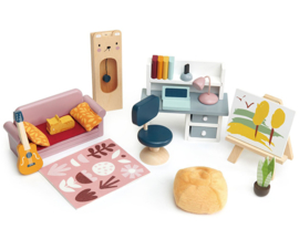 Poppenhuis Studeerkamer  - Tender Leaf Toys