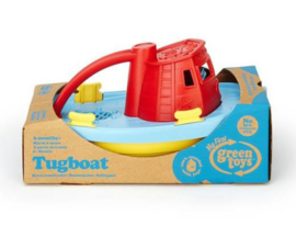 Green Toys Sleepboot Tugboat rood