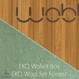 Wobbel original bamboe - vilt bos