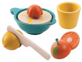 Plan Toys Houten Citruspers 'Juicer Set'