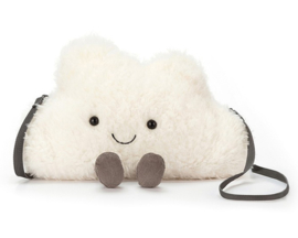 Jellycat Wolk Tasje, Amuseable Cloud Bag, 24cm