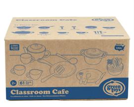 Green Toys Servies en Pannenset 'Classroom Cafe Set' 61-delig