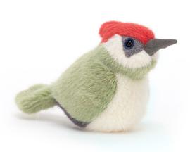 Jellycat Knuffel Vogel Specht 10cm, Birdling Woodpecker