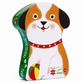 Djeco puzzel Little Puppy Firmin, 24 st, 42x30 cm