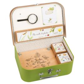 Moulin Roty koffer 'De botanicus'