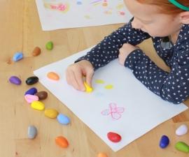 Crayon Rocks, 8 kleuren in fluwelen zakje