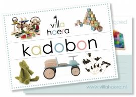 Kadobon € 15,00