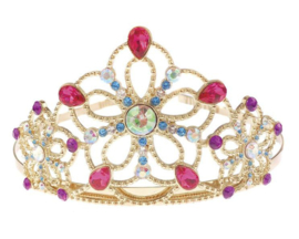 Prinsessen Kroontje / Tiara met glitterstenen