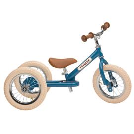 Trybike Steel 2-in-1 loopfiets vintage blauw