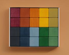 Raduga Grëz Blokkenset, Earth cubes, 20-delig