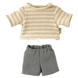 Maileg Kledingset Blouse and Shorts voor Teddy Junior, 21,5 cm