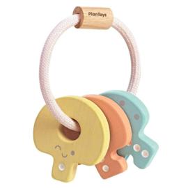 Plan Toys Sleutels rammelaar, Key Rattle Pastel