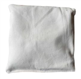 Zandzakje ongebleekt katoen, 500 gram