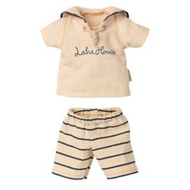 Maileg Kledingset voor konijn Size 2, Sailor Set