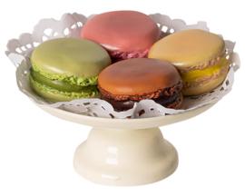 Maileg Koekjes Set, Macarons et Chocolat Chaud