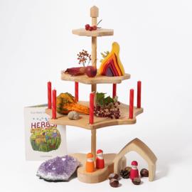 Grimm's Houten Seizoenstafel / Seizoenstandaard, 60cm