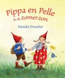 Pippa en Pelle in de zomerzon kartonboekje - Daniela Drescher - Christofoor