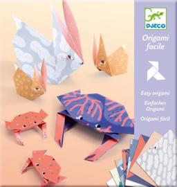 Djeco Origami Dierenfamilies, 6+