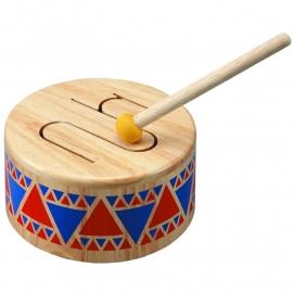 Plan Toys Houten Trommel, Solid Drum