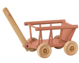 Maileg Houten Bolderkar, Wagon Roze
