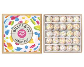 Billes & Co Knikkers in doosje, Uni Box Candy Pop, 25 stuks