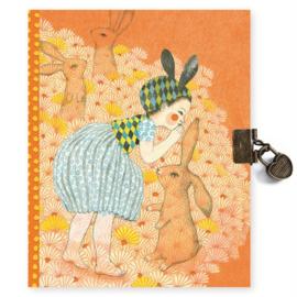 Djeco Dagboek met slotje, Elodie