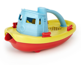 Green Toys Sleepboot Tugboat blauw