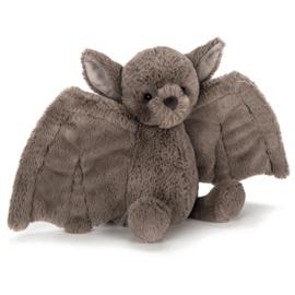 Jellycat Knuffel Vleermuis 26cm, Bashful Bat Medium