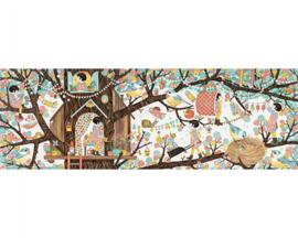 Djeco Puzzel 'Tree House', 200 st, 97x33 cm