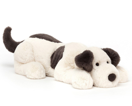 Jellycat  Knuffel hond 60 cm, Dashing Dog Huge