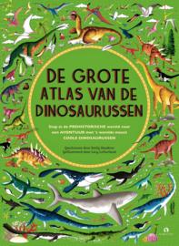 De grote atlas van de dinosaurussen - Emily Hawkins - Rubinstein