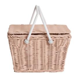 Olli Ella piki Basket picknickmandje Roze