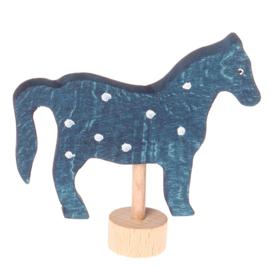 Grimm's Decoratiefiguur / Steker Paard Blauw