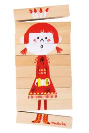 Moulin Roty houten puzzel 'Mengelmoes'