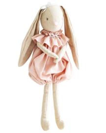 Alimrose Knuffel Konijn, Sadie Romper Bunny Pink, 40 cm