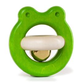 Bajo Houten Rammelaar kikker, groen