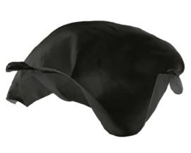 Sarah's Silks Speelzijde, Zwart, 89 x 89 cm