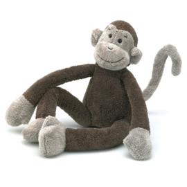Jellycat Knuffel Aap 33cm, Slackajack monkey
