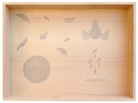 Grapat Houten Speelbak, Play Tray, 65 x 45 cm