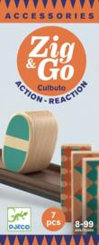 Djeco Zig & Go, Actie-Reactie-Baan, Uitbreidingsset Culbuto, 7-delig