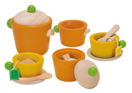 Plan Toys Houten Theeservies Tea Set