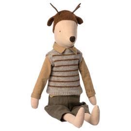 Maileg Muis, Maxi Mouse Boy, 50cm