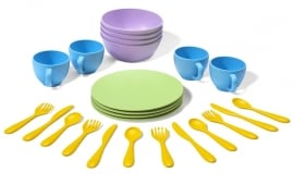 Green Toys Kinderservies 'Dish set'